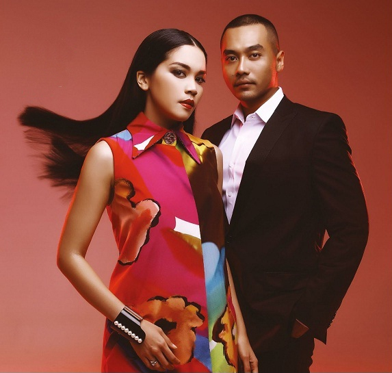 Alexandra Asmasoebrata And Dias Baskara Muchdi Are The Faces Of This Months Valentine Lovebirds Having Just Tied The Knot And Recently Returned From Their