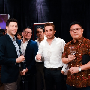 Rodolphone Borde, Oscar Hari Prakoso, Wahyu Waskito, Andy Mulyadi and Andy Kok