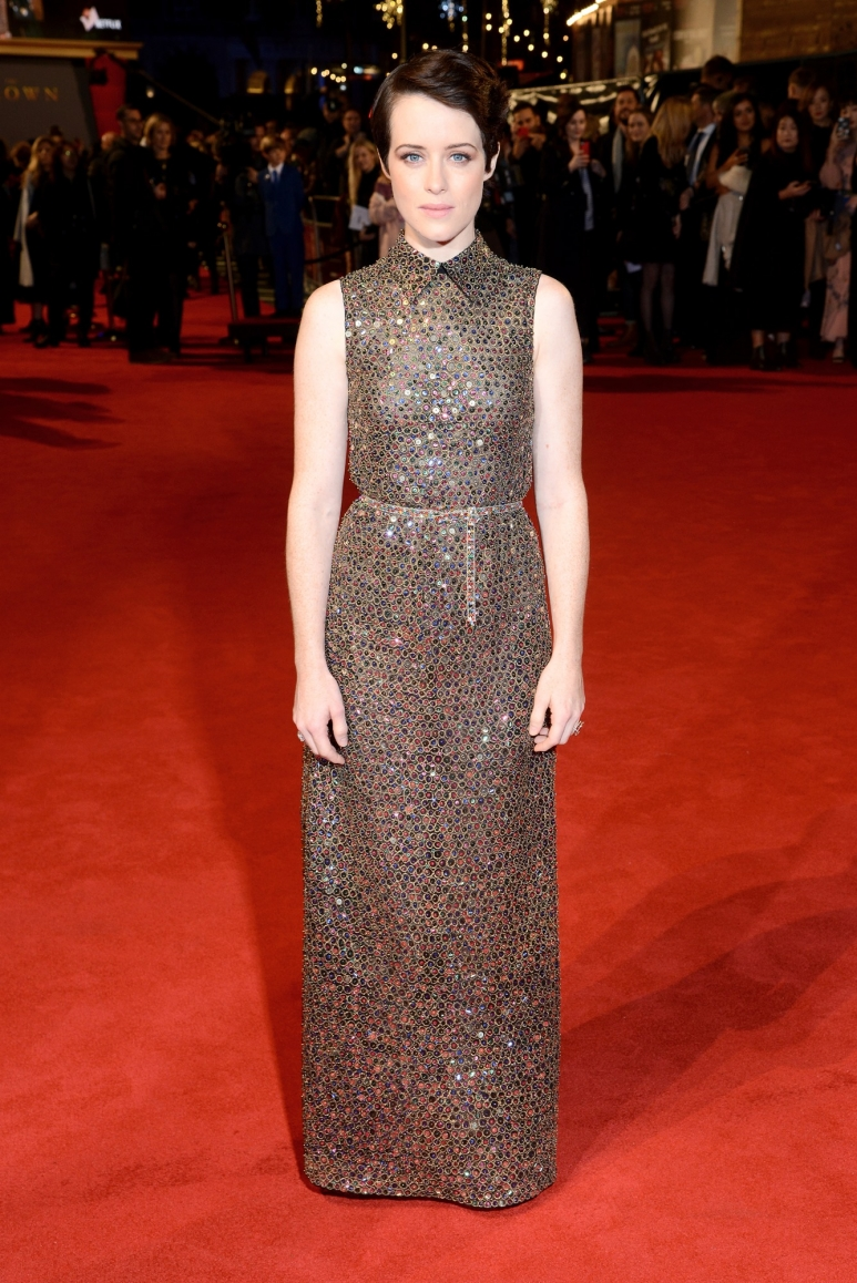 Claire Foy - The Crown Premiere - 21st November 2017.jpg