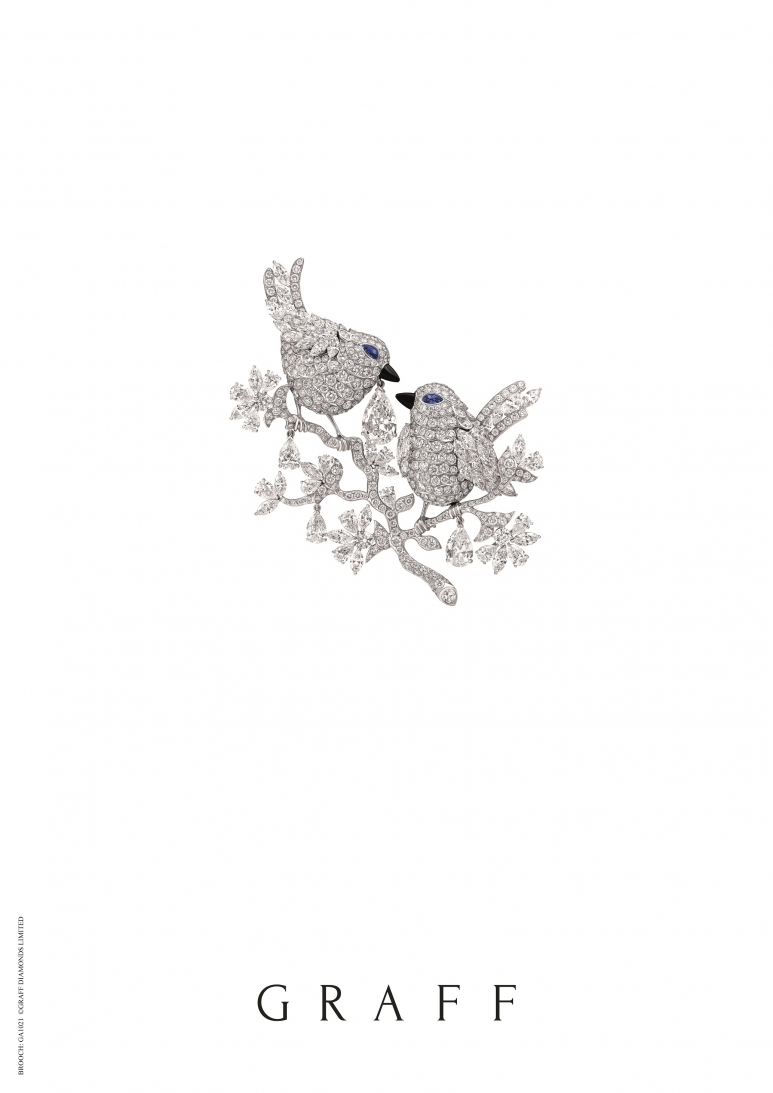 GRAFF multishape diamond birds brooch, total diamonds 46.20 carats.jpg