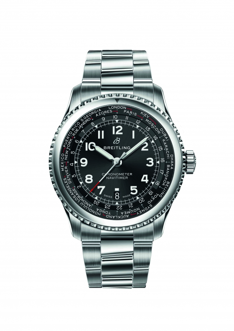 Breitling_Navitimer 8 B35 Automatic Unitime 43 with black dial and steel bracelet.jpg