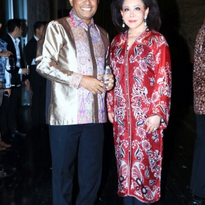 Saleh Husin and Maria Lukito