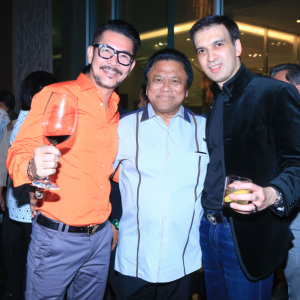 Ferry Salim, Oesman Sapta Odang, and Manoj Punjabi