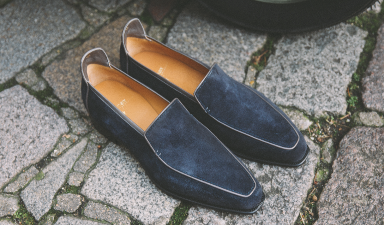 c995beae0b1 Torn between the fine finishes of a dress shoe and the ease of a slip on    Luckily loafers just got an injection of elegance courtesy of Corthay and  their ...