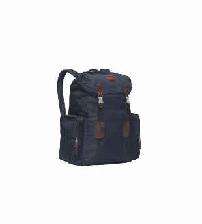 <strong>Dunhill Guardsman Large Backpack</strong>&lt;p&gt;Guardsman large backpack in lightweight nylon with cowhide trim. Features include two side pockets and top pocket, secure drawstring and dual push clip closing with breathable mesh back. Internal features include 2 small zipped pockets and a larger zipped pocket.&lt;/p&gt;<div></div><div></div>