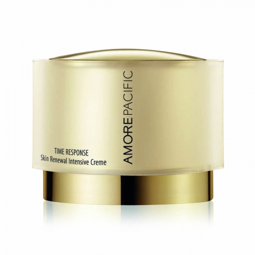 <strong>AmorePacific Time Response Skin Renewal Intensive Creme</strong>&lt;div class=&quot;page&quot; title=&quot;Page 115&quot;&gt; &lt;div class=&quot;layoutArea&quot;&gt; &lt;div class=&quot;column&quot;&gt; &lt;p&gt;&lt;span&gt;AmorePacific has created a potent anti-ageing complex made of that famous anti-oxidant, green tea. Time Response Skin Renewal Intensive Creme stimulates the deepest layers of skin to improve dullness and increase elasticity and resilience.&amp;nbsp;&lt;/span&gt;&lt;/p&gt; &lt;/div&gt; &lt;/div&gt; &lt;/div&gt;<div></div><div></div>