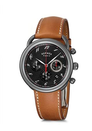 <strong>Hermes Arceau Chronograph</strong>&lt;p&gt;Hermes classic watch&lt;/p&gt;<div></div><div></div>