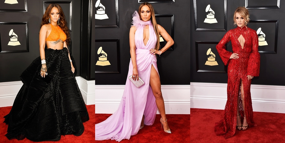 Who Wore What: 9 Best Dressed Stars At The 2017 Grammy