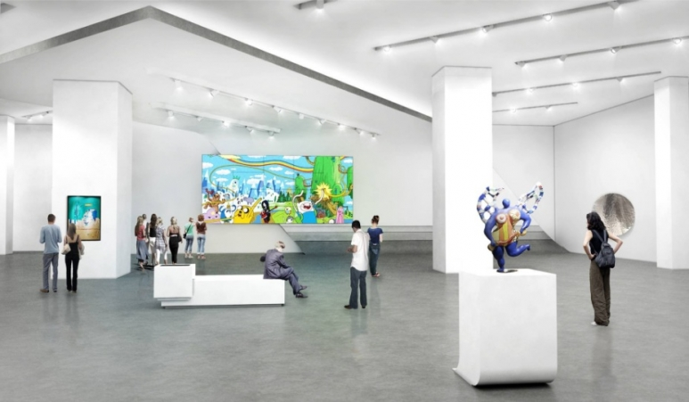 A sneak peek at museum macan indonesia s first modern and for Design interior di jakarta