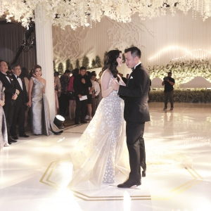 Calvin and Yohanna share their first dance as man and wife