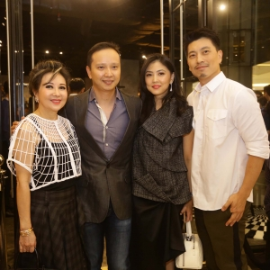 Dewi Lim, Philip Tjandra, Ellyse Soedjasa and Jun Mardian