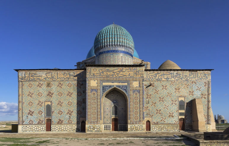 Mausoleum of Khoja Ahmed Yasawi, Turkestan.jpg