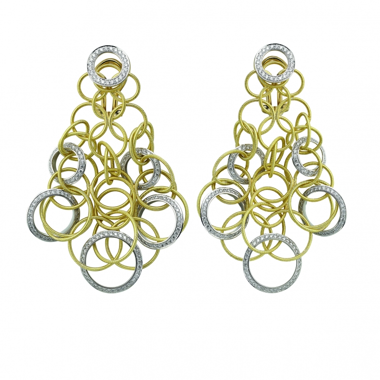 Buccellati_Hawaii Collection - Pendant earrings in yellow and white gold.jpg