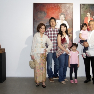 Mrs Martha Gunawan, Mr Riyan Gunawan, Mrs Wita Dewi, Ms Kathleen Grace, Ms Luna Faye and Mr Ricky Gunawan