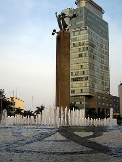 Selamat Datang Monument is one of the historic landmarks of #Jakarta_.jpg
