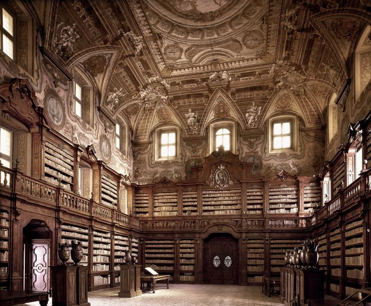 In a new Taschen book, the photographer Massimo Listri travels around the world to some of the oldest libraries, revealing unique architecture.jpg