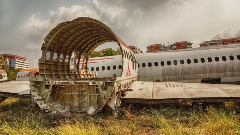 The site of an airplane graveyard in Bangkok, Thailand has become an unusual tourist attraction_ (1).jpg
