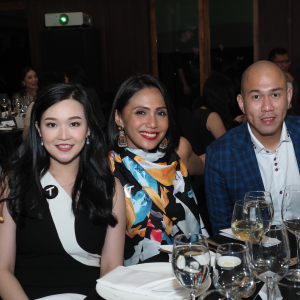 Gen.T honourees Rieke Caroline and Andini Effendi, and Mr. Adhidarma Herman of Time International