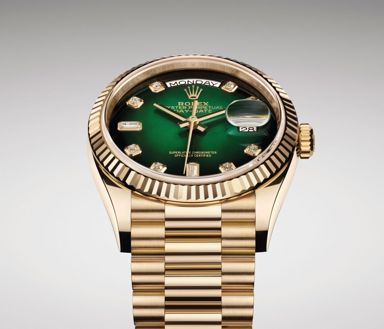 The Rolex Oyster Perpetual Day Date 36 Gets A Status Upgrade